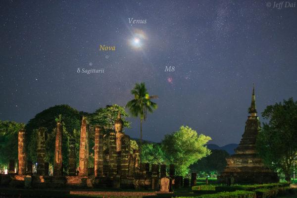 Nova over Thailand