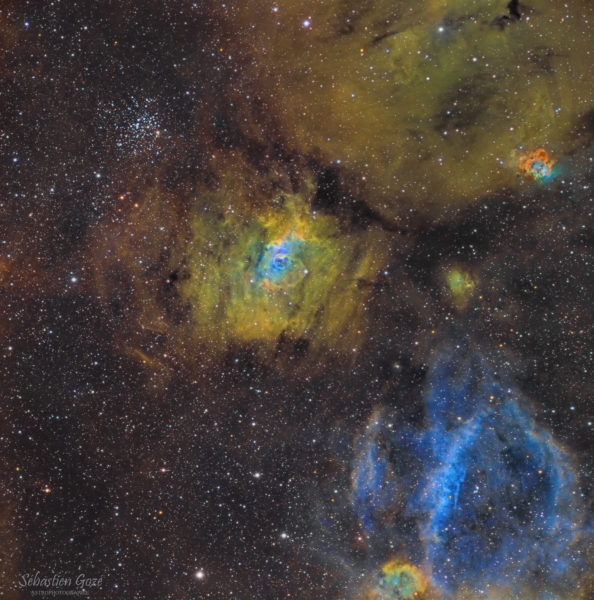 NGC 7635: Bubble in a Cosmic Sea