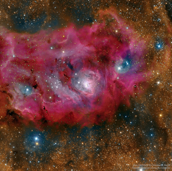 The Lagoon Nebula in High Definition
