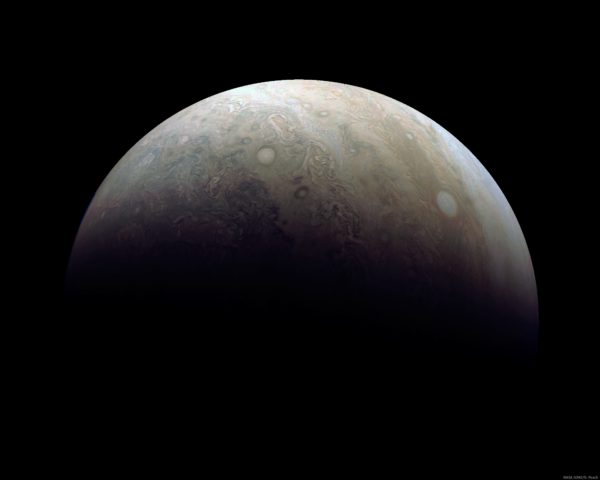 Southern Jupiter from Perijove 3