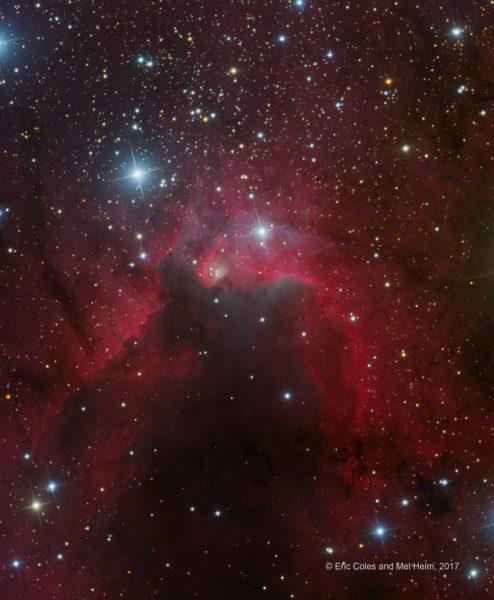 SH2-155: The Cave Nebula