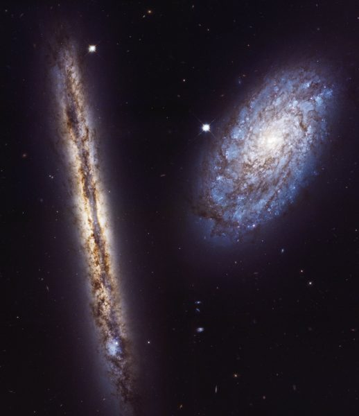 NGC 4302 and NGC 4298
