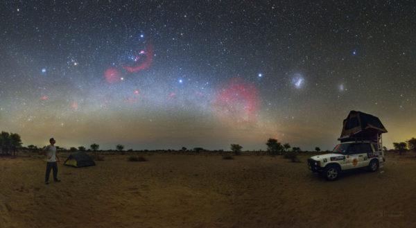 A Kalahari Sky