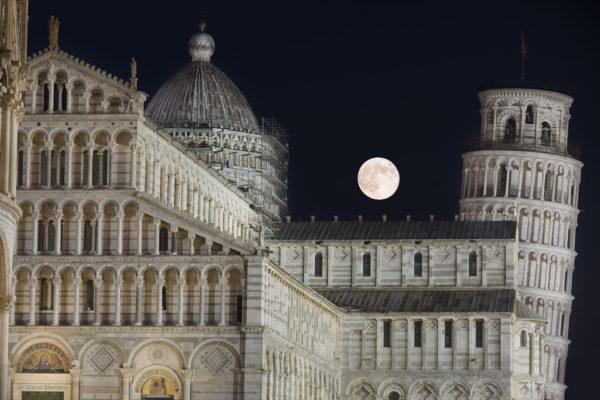 Thunder Moon over Pisa