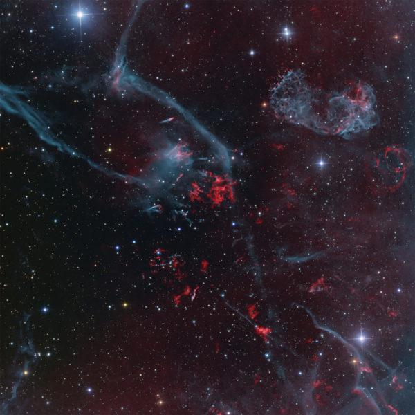 Puppis A Supernova Remnant