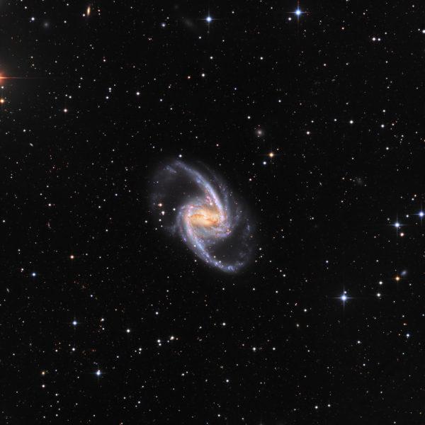 NGC 1365: Majestic Island Universe