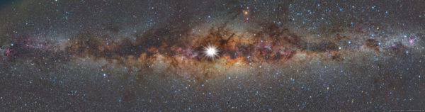 Solstice Sun and Milky Way