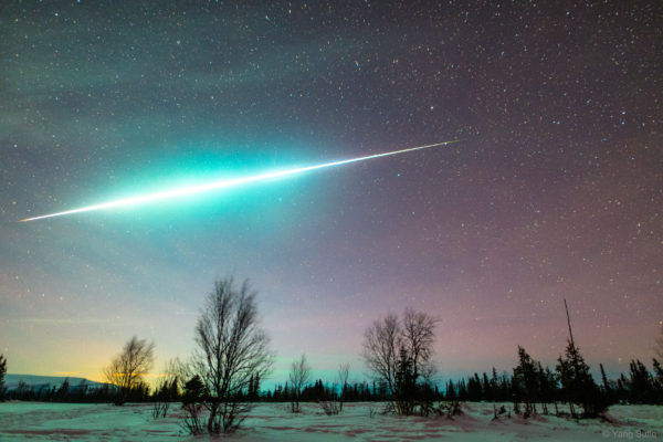 Fireball in the Arctic
