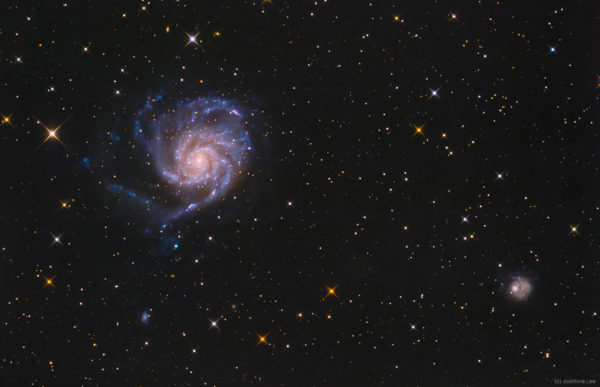 The View Toward M101